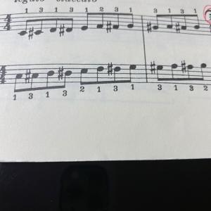 半音階の練習