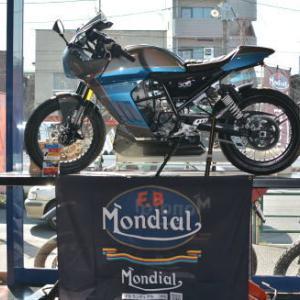 FBモンディアル パガーニ300 ブルー/グレー 日本初入荷です