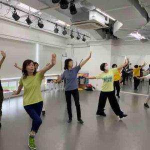 神戸きずな、あかり 6月22日 ダンス