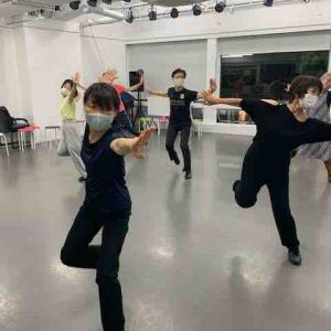 神戸きずな、あかり 7月27日 ダンス