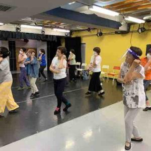 大阪花、めぐみ 応援ダンス 7月29日 ダンス