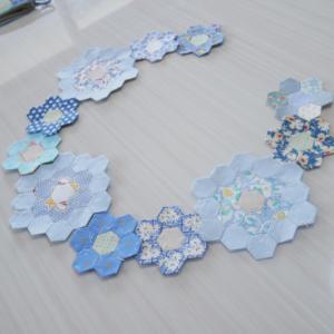花材セットとブルーヘキサゴン♪