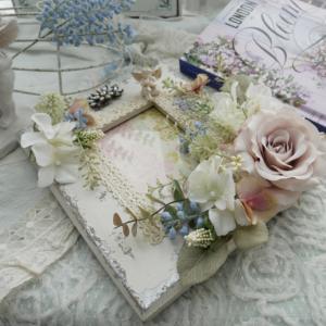 レッスン準備♬~お花のフレーム