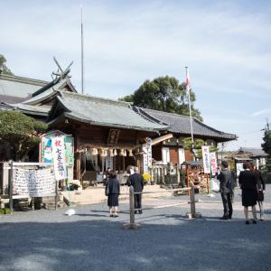 和歌山県橋本市 隅田八幡神社にて七五三出張撮影