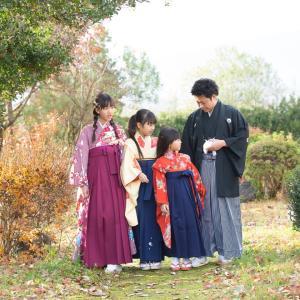 毎年恒例の、、、皆様にも毎年恒例にしてほしい家族写真。