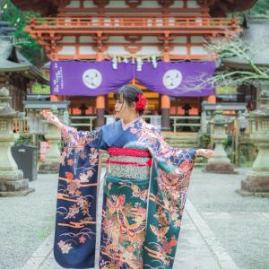 振袖前撮撮影 丹生都比売神社 出張撮影 大阪出張撮影・兵庫出張撮影・奈良出張撮影