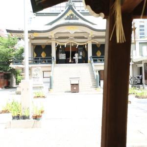 7月11日(土)難波神社にて キモノ日和の夏祭り
