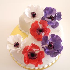 アネモネのバースデーケーキ