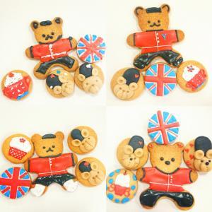 英国展 アイシングクッキー教室
