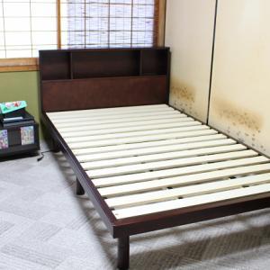宮付きセミダブルベッドとマットレスを購入 シングルより30cm大きくて快適