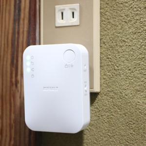Wifi中継機で電波がバッキバキになる インターネット速度が非常に高速と評価される