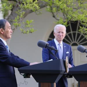 日米共同声明に台湾を盛り込み中国が激怒 対日圧力を強めると声明を出すも台湾は感謝を伝える