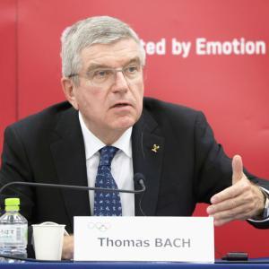 IOCバッハ会長、来日早々一番大事なのは中国人と宣言 日本人と言い直すも後の祭り