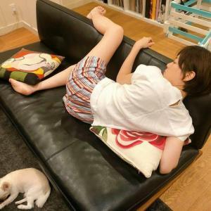 上野樹里のへんてこりんな寝姿が話題 だらしない姿が可愛いと俺大絶賛