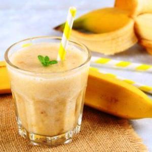 近頃?再ブーム到来のバナナジュース?