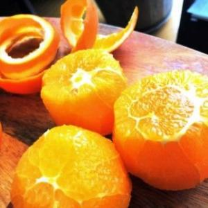 オレンジとみかん缶のシロップの・・・