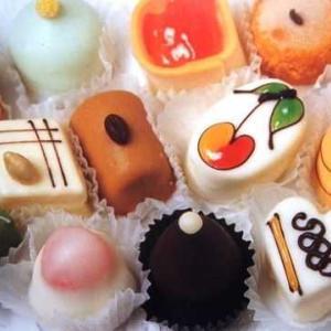 小さなケーキで・・・