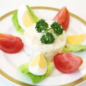 ポテトサラダは炭水化物の食べ物なので・・・