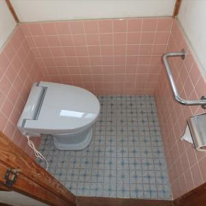 汲み取りトイレを簡易水洗に