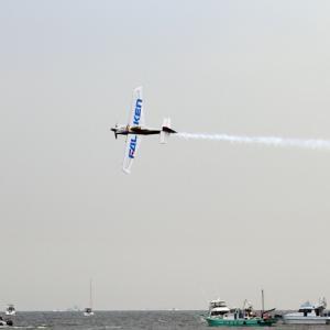 RedBull Air Race in CHIBA 決勝を観てきました