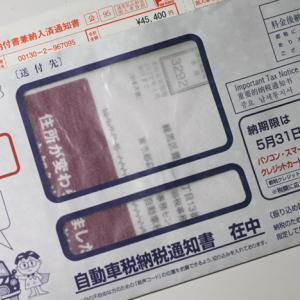 自動車税納税通知