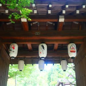 京都・高台寺で百鬼夜行展