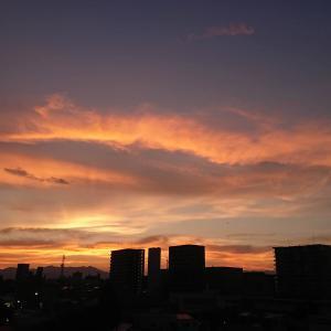福島県内の空です。 @福島県