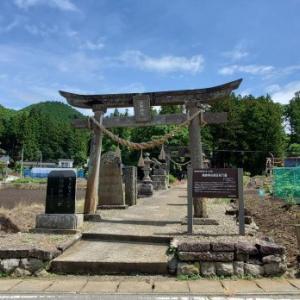 大信へドライブ 熊野神社/前編 @福島県白河市