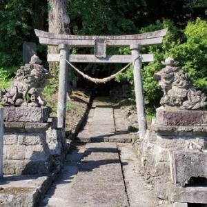 大信へドライブ 春日神社 @福島県白河市