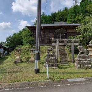 八幡神社 @福島県白河市