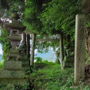 厳島神社 @福島県白河市