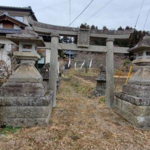 温泉八幡神社 @福島県白河市