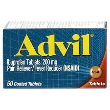島民の皆様!アドビル系薬の服用について