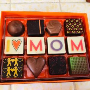 母の日のチョコレート