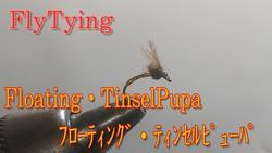 255匹目FlyTying:Floating・TinselPupa フローティング・ティンセルピューパ