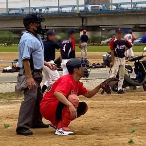 ぱぱっち×野球〜。