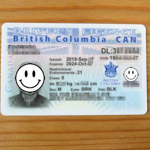 BC州の自動車運転免許証更新は簡単