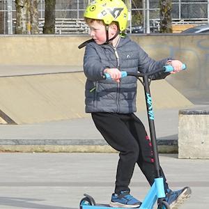 カナダのスケートパーク