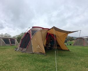 平成最後のキャンプに来てます