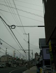 午後から雨ですってよ、奥さん