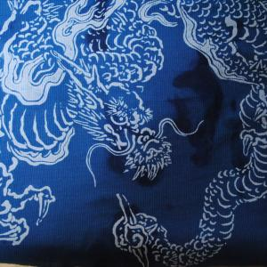 龍と、藍。