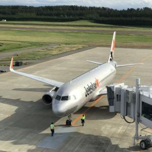 庄内空港の展望デッキから飛行機を見たのは何年ぶりだろか