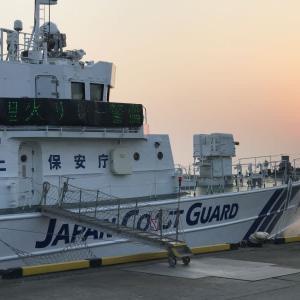 巡視船も聖火リレー警備?