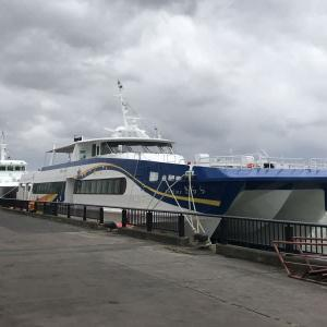 代船「きらら」酒田港