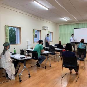 7月上旬の北海道巡回伝道写真 8月の種子島はコロナ感染予防のためにキャンセルしました
