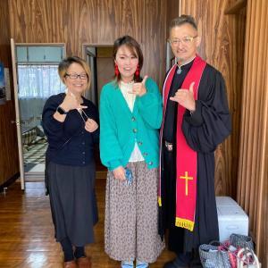 同じ雑居房に居た刑務所仲間に洗礼を授けてきました!2021.4.11広江聖約教会洗礼式写真