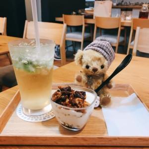 まるいちCafeで「くまの日」開催しました!和風チーズケーキも美味~♪