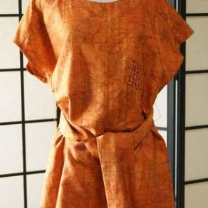 羽織でチュニック <すゑさんの着物リメイク…その56>