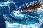 石廊崎の岩礁(静岡県賀茂郡南伊豆町石廊崎)