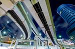 東池袋インター高架下夜景(東京都豊島区東池袋)
